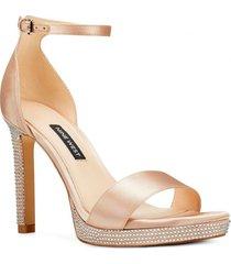 zapato fiesta edyn beige mujer nine west