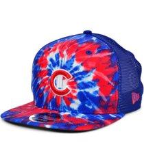 new era chicago cubs tie dye mesh back 9fifty cap