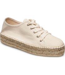 capri espadrille sneakers sandaletter expadrilles låga creme twist & tango