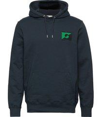 eddie ga hoodie hoodie trui blauw wood wood