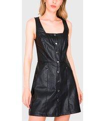 vestido  ash jumper negro - calce ajustado