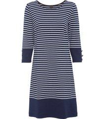 abito di jersey a righe (blu) - bodyflirt
