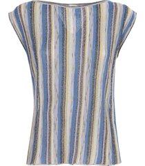 striped top crew neck
