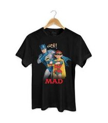 camiseta bandupbatman e mad