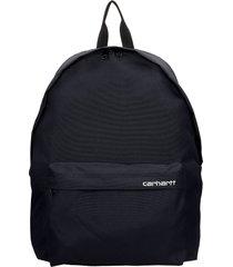 carhartt backpack in black synthetic fibers