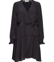 ingjerd korte jurk zwart fall winter spring summer