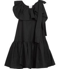 3.1 phillip lim ruffled and sleeveless midi dress