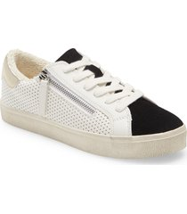 women's steve madden parka low top sneaker, size 8.5 m - black (nordstrom exclusive)