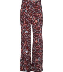 see by chloé floral print trousers