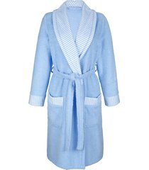 badjas mona wit::blauw