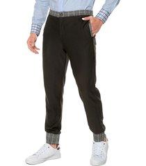 pantalón negro para ejecutivos modernos de la marca osop mansion the men's fashion jackpot