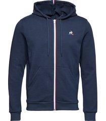 ess fz hoody n°1 m hoodie trui blauw le coq sportif