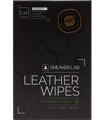 lw-leather wipes skovård svart sneaker lab