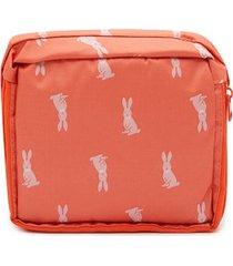 maleta canguros color rojo, talla uni