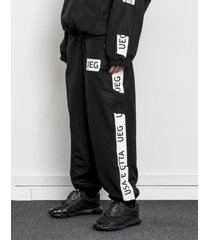 spodnie dresowe black tracksuit bottom