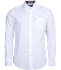 barbour shirt wit met borstzak
