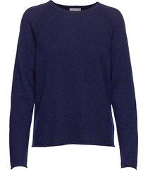 cualaia pullover stickad tröja blå culture