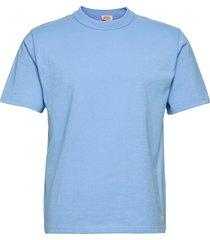 t-shirt héritage t-shirts short-sleeved blå armor lux