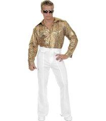 buyseason men's disco shirt costume