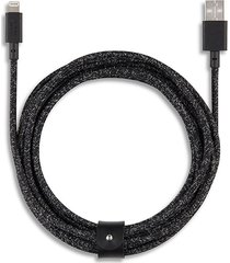 belt extra long braided lightning charging cable