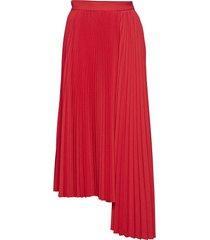 gonna skirt knälång kjol röd msgm