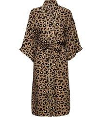 loe liberte kimono kimonos beige becksöndergaard