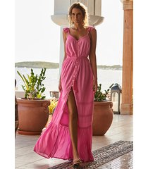 melissa odabash alanna dress rose