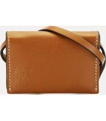 altuzarra card case belt - neutrals