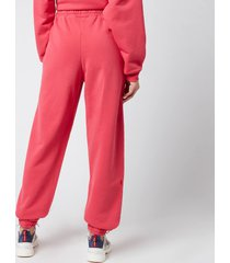 h2ofagerholt women's cream doctor 2 pants - raspberry - l