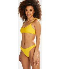 hunkemöller napa bikiniunderdel gul