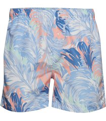 wave swim shorts c.f zwemshorts blauw gant