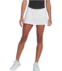 pollera blanca adidas club tenis