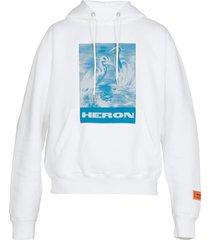 heron preston oversize hoodie
