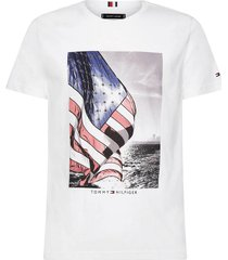 t-shirt flag photo print wit