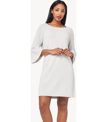 lilla p peplum sleeve dress