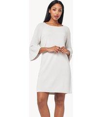 lilla p peplum sleeve dress