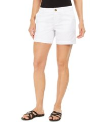 style & co petite chino shorts, created for macy's