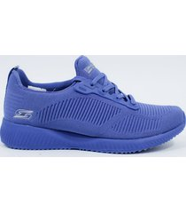 tenis para mujer skechers 31362 nvy bobs squad - azul