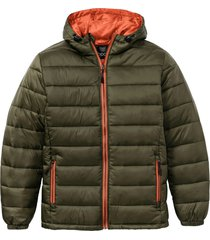 giacca trapuntata con cappuccio (verde) - bpc bonprix collection
