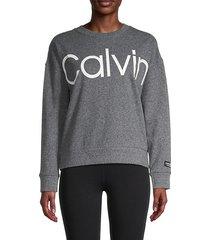 logo cotton-blend sweatshirt
