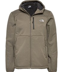 m quest hooded softs outerwear sport jackets grön the north face