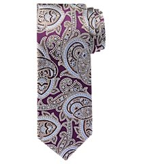 reserve collection modern paisley tie - long clearance