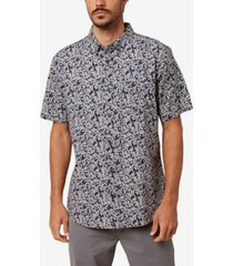 men's lei up button-up shirt