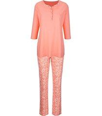 pyjama harmony apricot::ecru