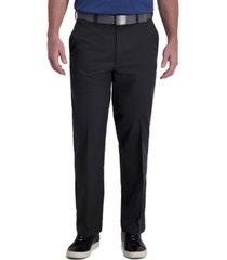haggar men's cool right classic-fit 4-way stretch performance dress pants