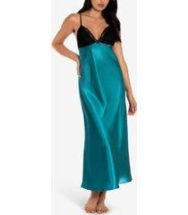 linea donatella charmeuse nightgown