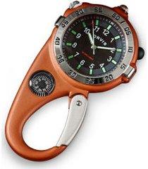 ultimate carabiner compass watch
