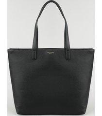 bolsa de ombro feminina shopper grande preta
