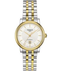 women's tissot t-classic carson bracelet watch, 30mm