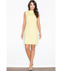 sukienka felicita m299 żółta